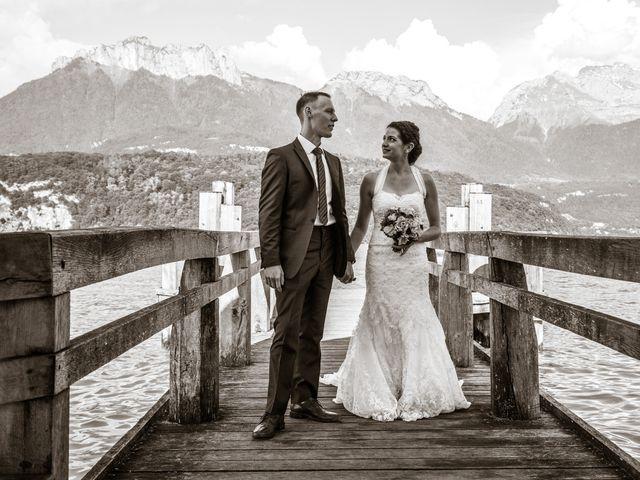 Le mariage de Thomas et Julie à Saint-Jorioz, Haute-Savoie 24