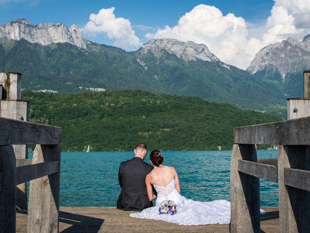 Le mariage de Thomas et Julie à Saint-Jorioz, Haute-Savoie 25