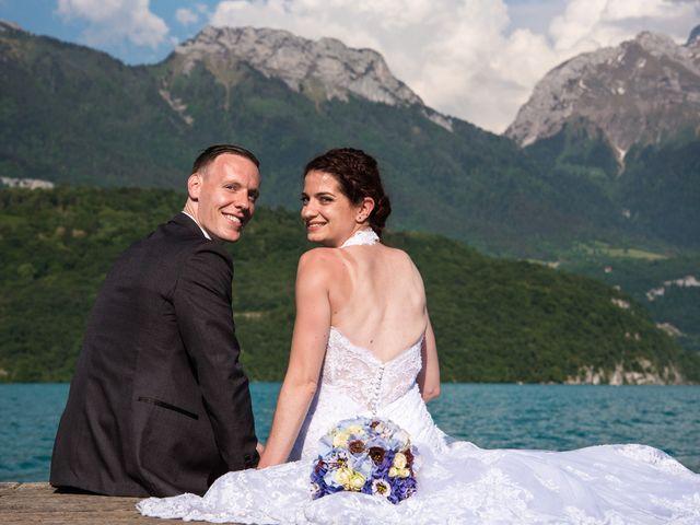 Le mariage de Thomas et Julie à Saint-Jorioz, Haute-Savoie 26