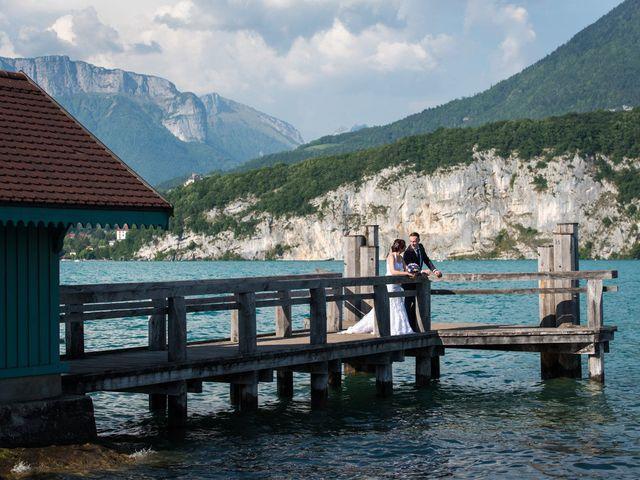 Le mariage de Thomas et Julie à Saint-Jorioz, Haute-Savoie 27