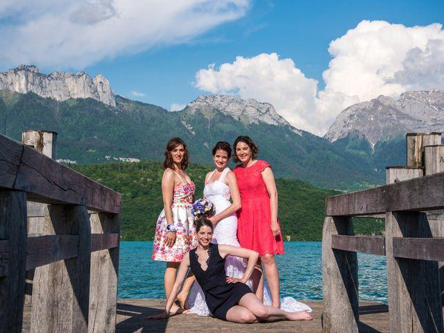 Le mariage de Thomas et Julie à Saint-Jorioz, Haute-Savoie 30