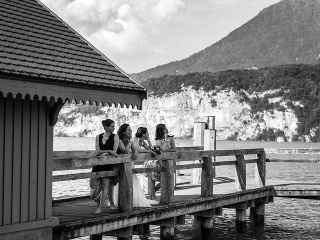 Le mariage de Thomas et Julie à Saint-Jorioz, Haute-Savoie 31