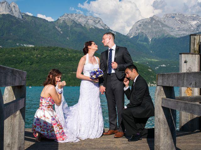 Le mariage de Thomas et Julie à Saint-Jorioz, Haute-Savoie 32