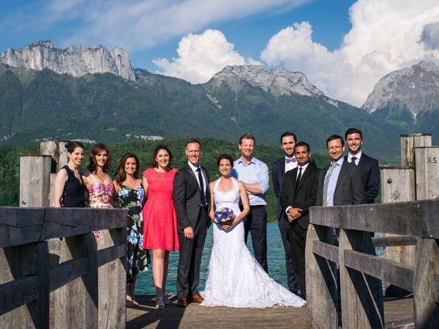Le mariage de Thomas et Julie à Saint-Jorioz, Haute-Savoie 33