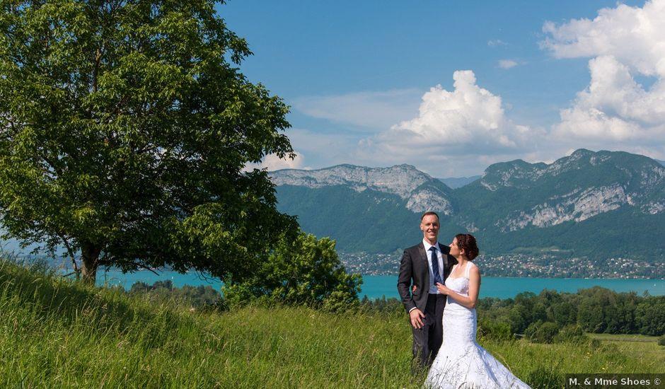 Le mariage de Thomas et Julie à Saint-Jorioz, Haute-Savoie