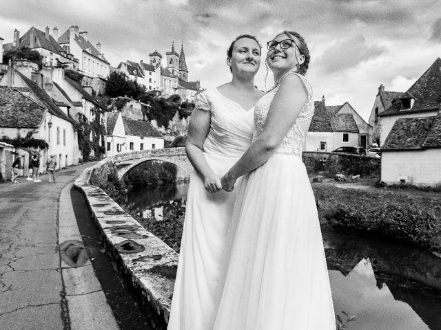 Le mariage de Emilie et Victoria à Semur-en-Auxois, Côte d'Or 14