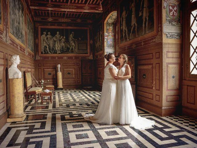 Le mariage de Emilie et Victoria à Semur-en-Auxois, Côte d'Or 25