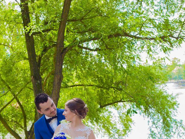 Le mariage de David et Marina à Serémange-Erzange, Moselle 5