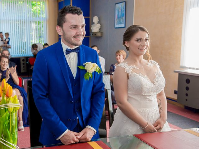 Le mariage de David et Marina à Serémange-Erzange, Moselle 8
