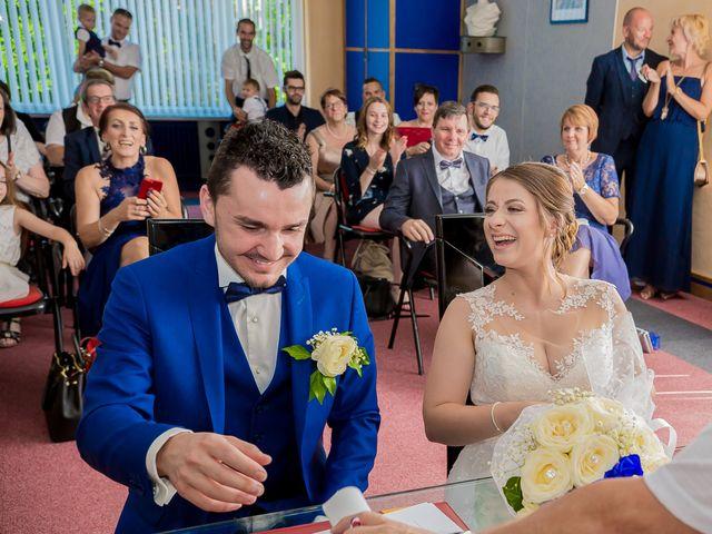 Le mariage de David et Marina à Serémange-Erzange, Moselle 9