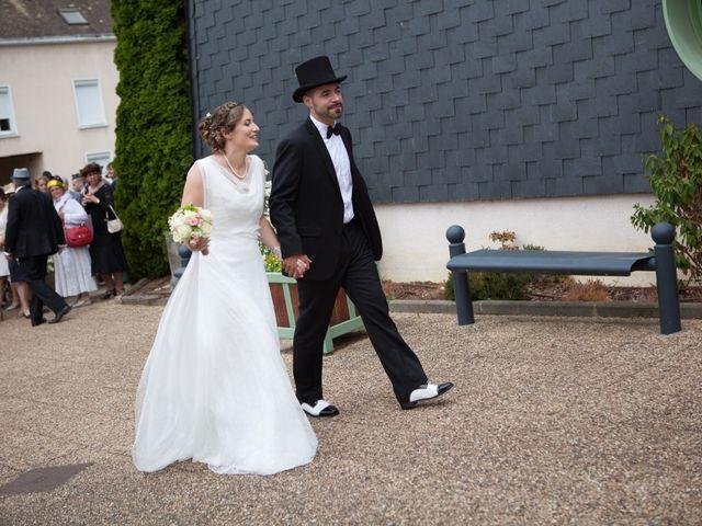 Le mariage de Nicolas et Céline à Connerré, Sarthe 1