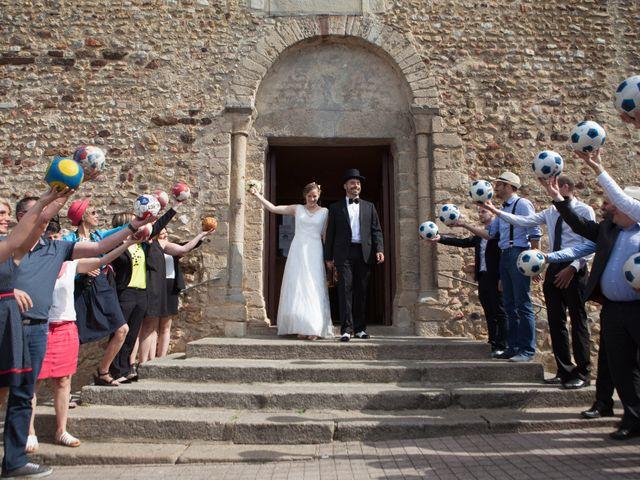 Le mariage de Nicolas et Céline à Connerré, Sarthe 3