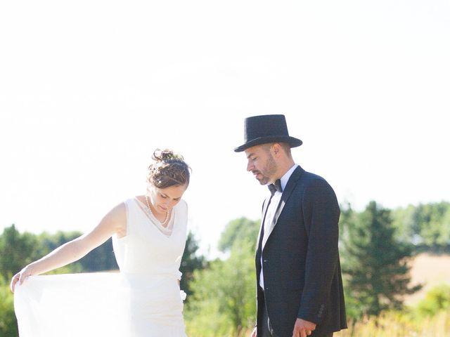Le mariage de Nicolas et Céline à Connerré, Sarthe 11