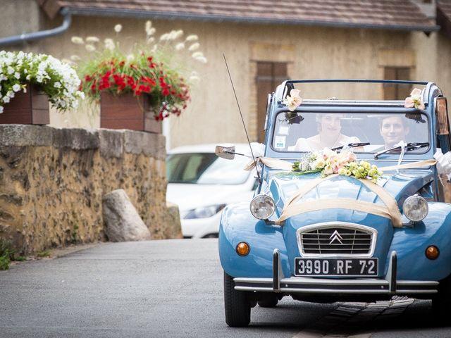 Le mariage de Nicolas et Céline à Connerré, Sarthe 34