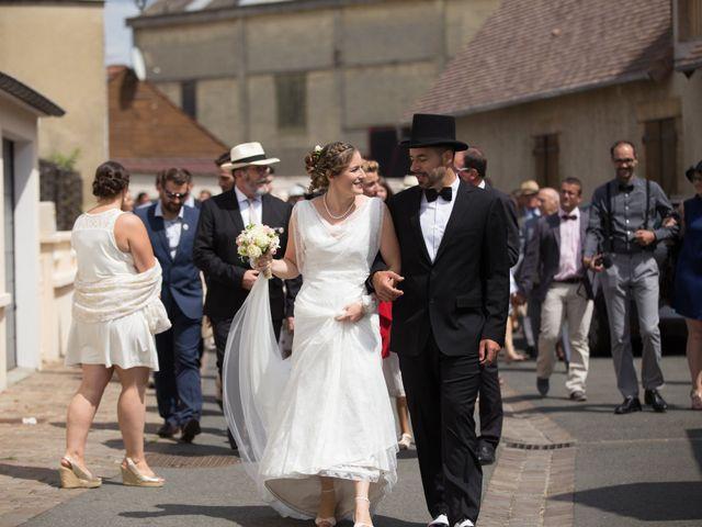 Le mariage de Nicolas et Céline à Connerré, Sarthe 48