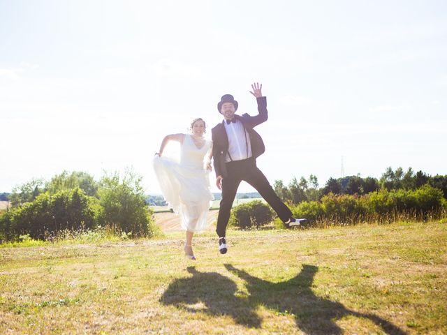 Le mariage de Nicolas et Céline à Connerré, Sarthe 78