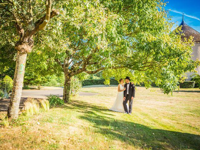 Le mariage de Nicolas et Céline à Connerré, Sarthe 92