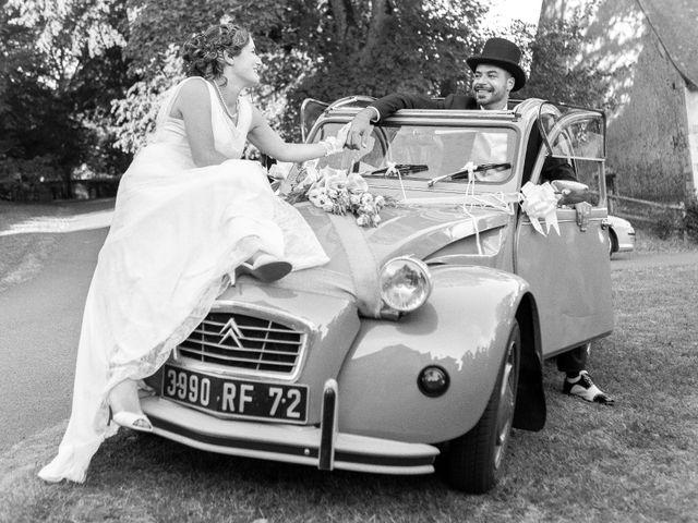 Le mariage de Nicolas et Céline à Connerré, Sarthe 105