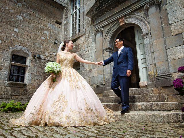 Le mariage de Daniel et Eugénia à Brest, Finistère 13