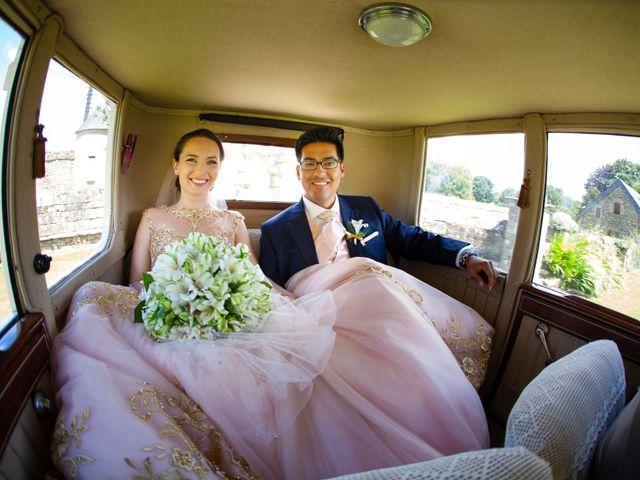 Le mariage de Daniel et Eugénia à Brest, Finistère 19