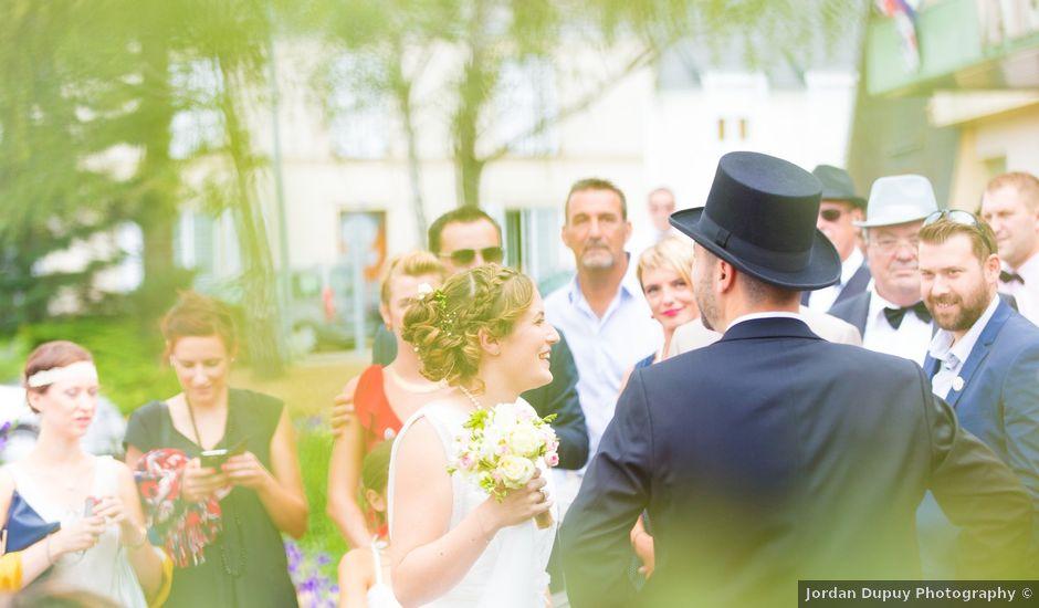 Le mariage de Nicolas et Céline à Connerré, Sarthe