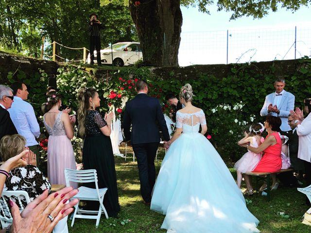 Le mariage de Victor  et Mathilde  à Arlay, Jura 15
