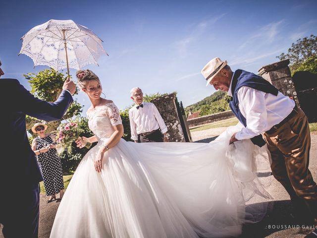 Le mariage de Victor  et Mathilde  à Arlay, Jura 17