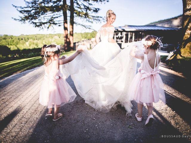 Le mariage de Victor  et Mathilde  à Arlay, Jura 35