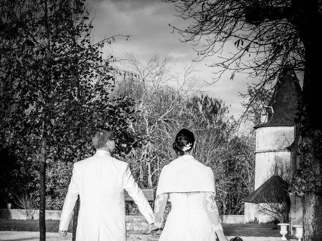 Le mariage de Nathanaël et Laure à Massognes, Vienne 2