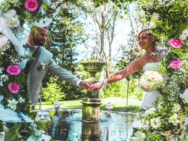 Le mariage de Florian et Coralie à Saint-Geneys-près-Saint-Paulien, Haute-Loire 7
