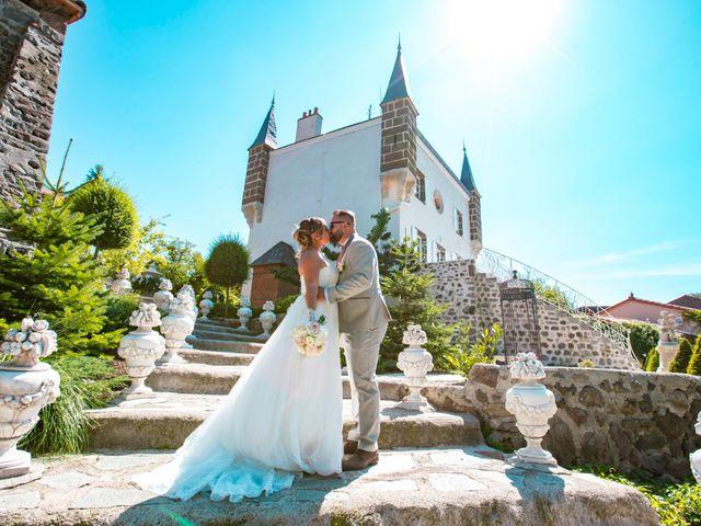 Le mariage de Florian et Coralie à Saint-Geneys-près-Saint-Paulien, Haute-Loire 10