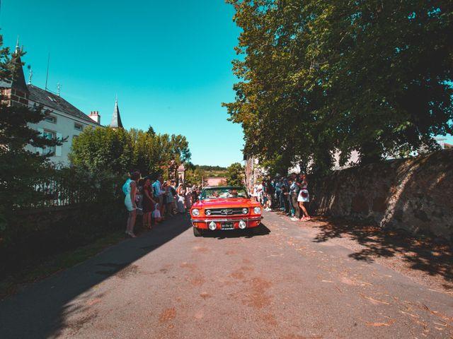 Le mariage de Florian et Coralie à Saint-Geneys-près-Saint-Paulien, Haute-Loire 11