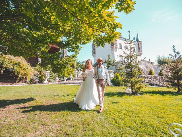 Le mariage de Florian et Coralie à Saint-Geneys-près-Saint-Paulien, Haute-Loire 13