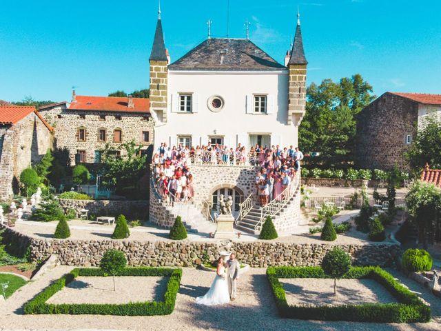 Le mariage de Florian et Coralie à Saint-Geneys-près-Saint-Paulien, Haute-Loire 2