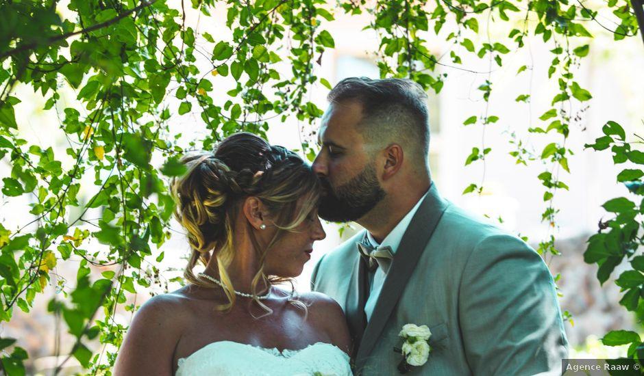Le mariage de Florian et Coralie à Saint-Geneys-près-Saint-Paulien, Haute-Loire