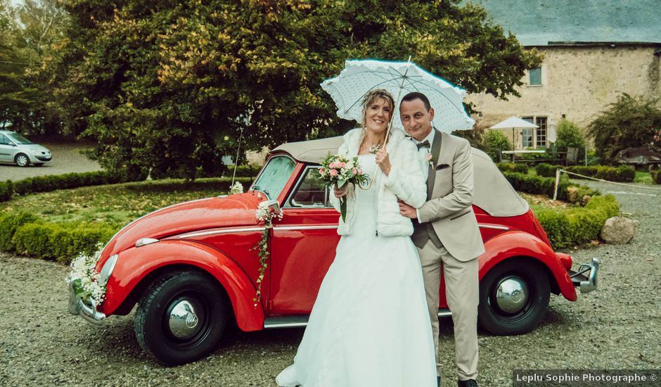Le mariage de Franck et Marie-Laure à Bernay, Eure