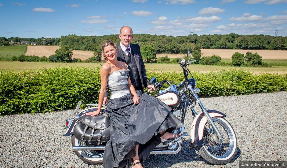Le mariage de Franck et Cécile à La Couyère, Ille et Vilaine