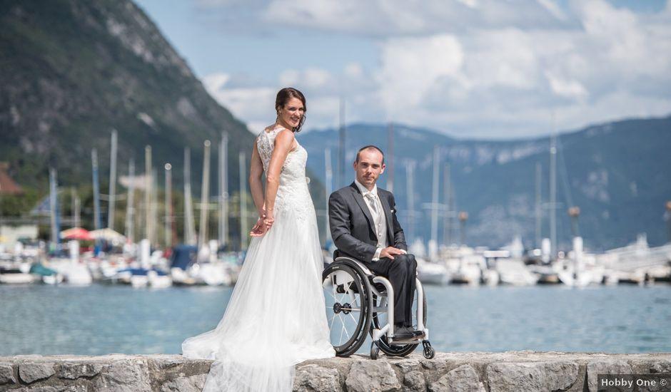Le mariage de Sébastien et Aurélie à Le Bourget-du-Lac, Savoie