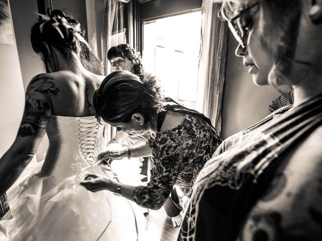 Le mariage de Laurent et Vanessa à Cluses, Haute-Savoie 14