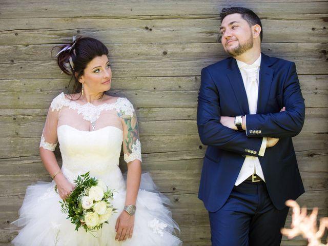 Le mariage de Laurent et Vanessa à Cluses, Haute-Savoie 23