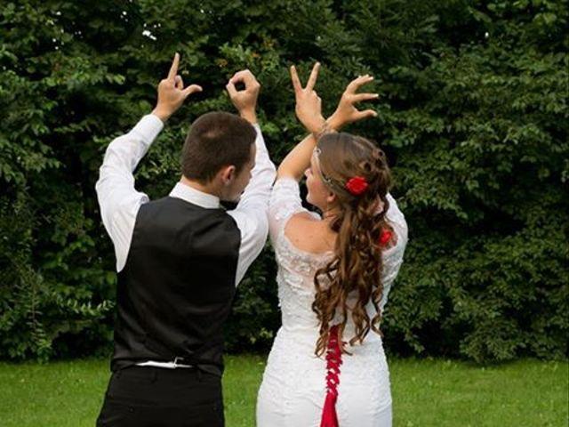 Le mariage de Audrey et Yohann à Gasny, Eure 7