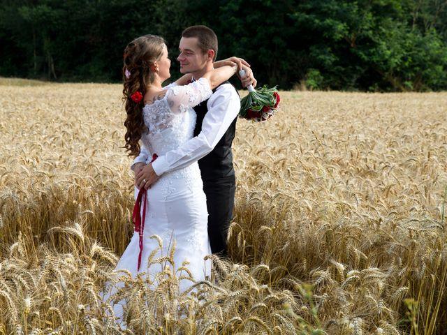 Le mariage de Audrey et Yohann à Gasny, Eure 10