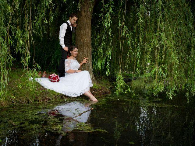 Le mariage de Audrey et Yohann à Gasny, Eure 12