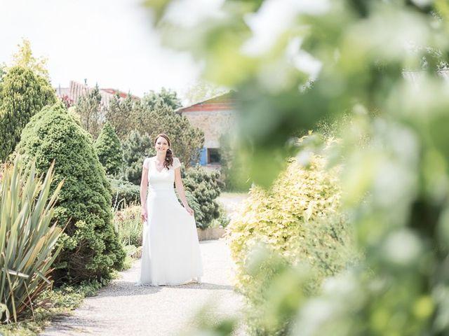 Le mariage de Guillaume et Sandra à Carla-Bayle, Ariège 9