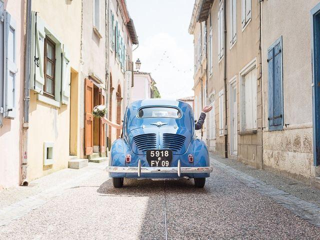 Le mariage de Guillaume et Sandra à Carla-Bayle, Ariège 12
