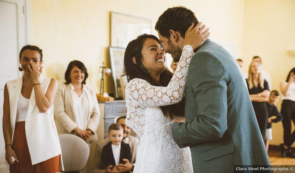 Le mariage de Damien et Adélie à Villefranche-de-Rouergue, Aveyron