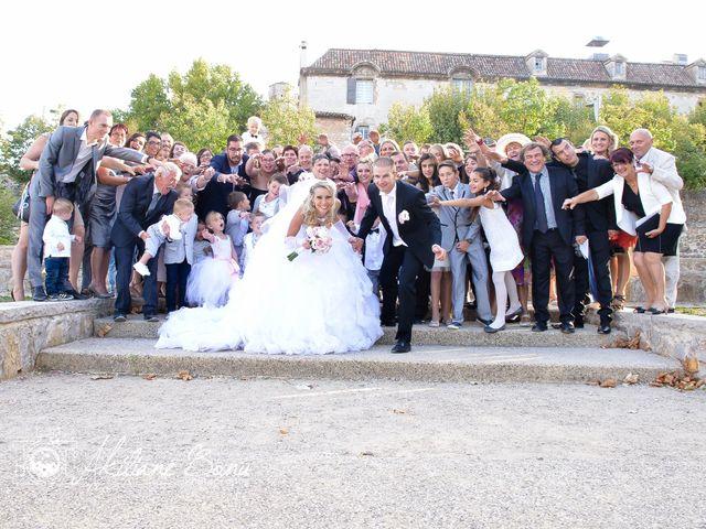 Le mariage de Renaud et Justine à Saint-Maximin-la-Sainte-Baume, Var 42