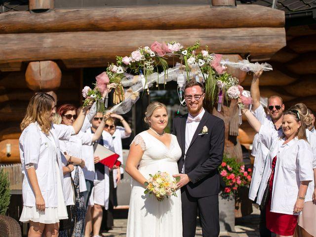 Le mariage de Valérian et Charlotte à Lemberg, Moselle 15