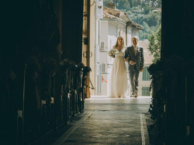 Le mariage de David et Charlotte à La Cadière-d'Azur, Var 14