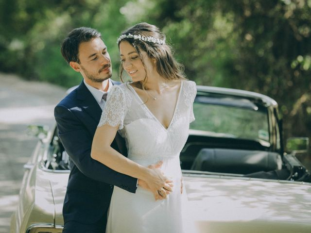 Le mariage de David et Charlotte à La Cadière-d'Azur, Var 34